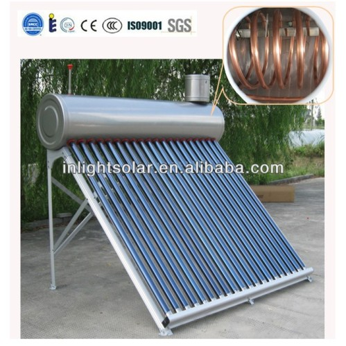 Stainless Steel Instant Solar Water Heaters China Copper