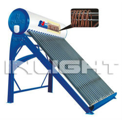 Copper Coil Pressurized Solar Water Heaters