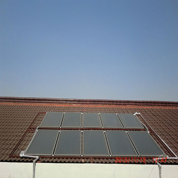 Pressurized Solar Hot Water Heating System