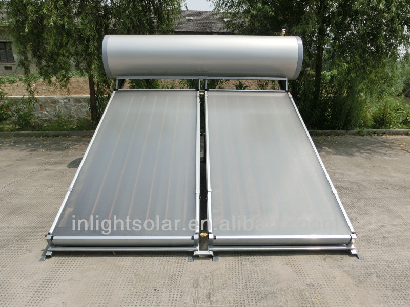 Compact Pressurized Solar Panels Water Heater