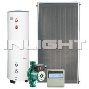 flat panel solar water heater copper for heat exchange