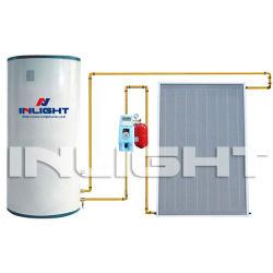 split flat plate solar hot water heater copper for heat exchange