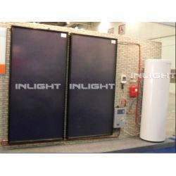 solar collector flat panel