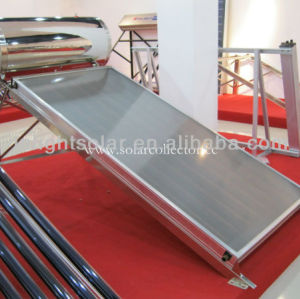 Compact Non-pressurized Flat Plate Solar Water Heater