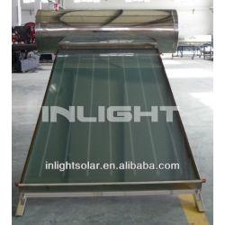 Low Pressure Flat Plate Solar Geysers