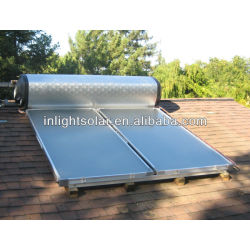 Europe Standard Flat Panel Solar Hot Water System