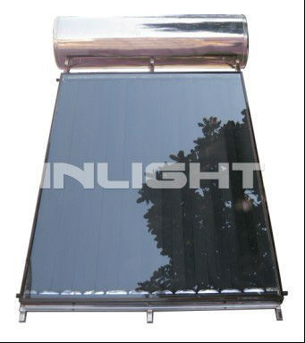 Integrated Flat-Plate Solar Water Heater