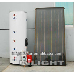 Pump Circulation Flat Solar Panel Solar Water Heaters