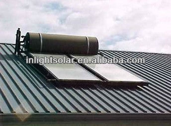 Black chrome Flat-plate Solar Water Heater