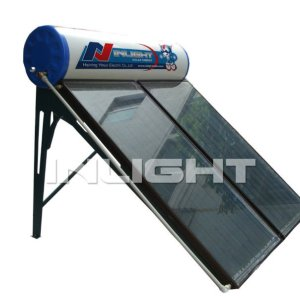 Black Chrome Compact Flat-Plate Solar Water Heater