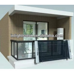 Balcony high pressurized solar collector system 58*1800mm