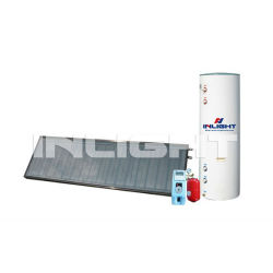 Balcony Hanging U Pipe Solar Heating System for Home