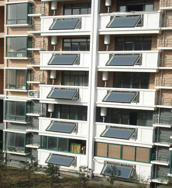 Balcony Split Flat Plate Solar Hot Water Panel