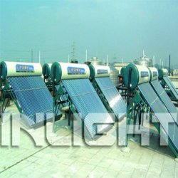 Integrated solar hot water domestic project
