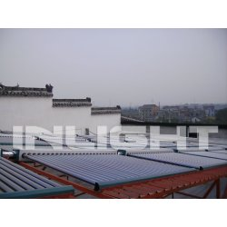 Heat Pipe Solar Hot Water Heating System Project