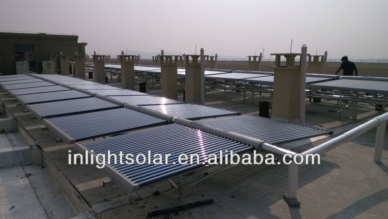 Low Pressure Commerical Solar Heating System