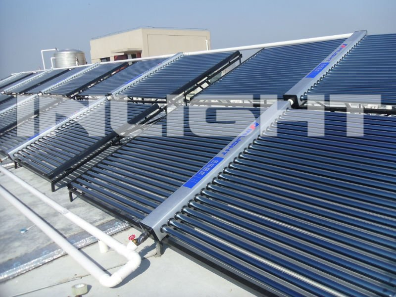 Vacuum Tube Solar Collector Solar Hot Water Heating System