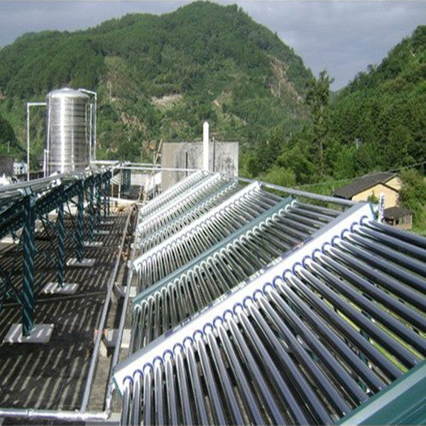 All Glass Vacuum Tube Solar Collector system