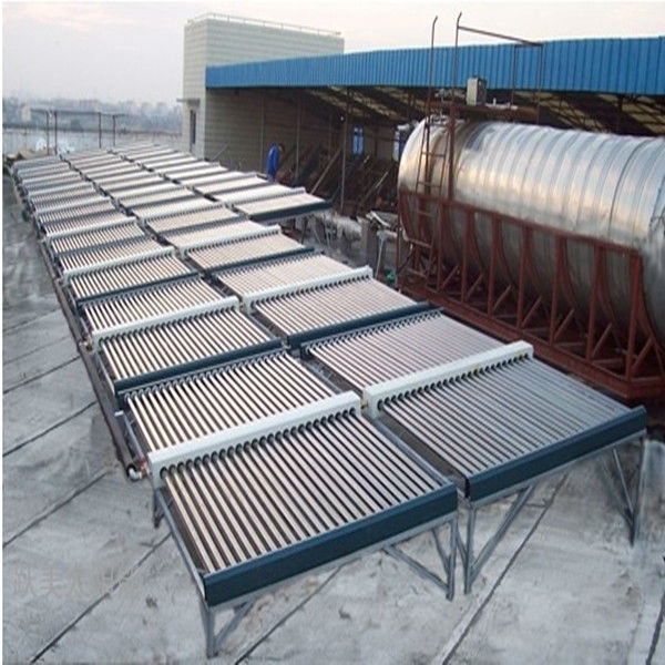Industrial Vacuum Tube Solar collector heating system