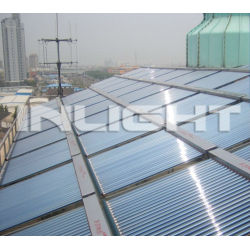 low pressure glass tube solar energy heating system for industry