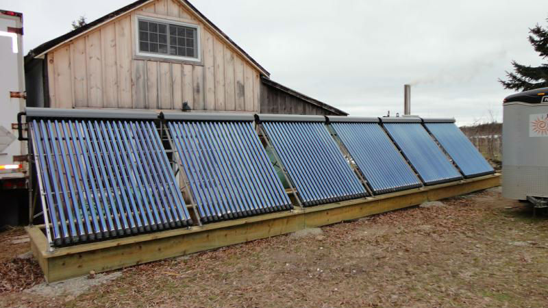 Wall Mounted Pressurized Solar Water Heater System