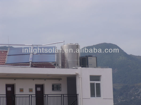 All glass tube collector industrial solar heating systems
