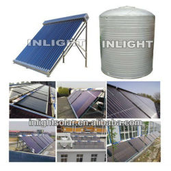 500L to 10000L Solar Water Water Heating System(for school,hotel,hospital)