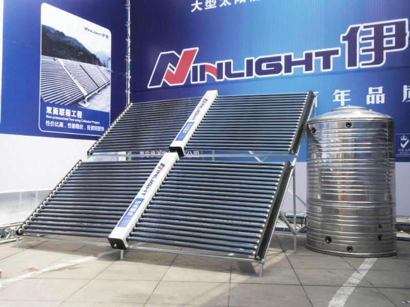 Non pressure CE certified Water Heater Solar Collector