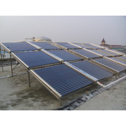 Vacuum Tube Solar Hot Water System (industrial or school use)