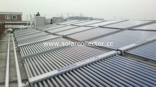 Non Pressure Industrial Solar Hot Water System