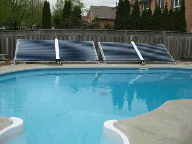 High Efficient Heat Pipe Tube Solar Swimming Pool Heating
