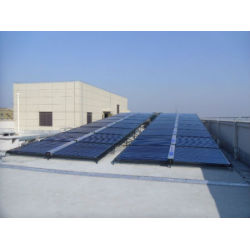 industrial solar water heating project non pressure solar collector