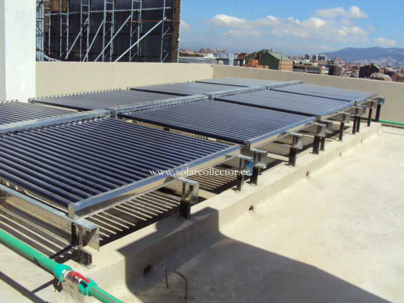 Most Economical Solar Water Project for Hotel, School and Swimming pool