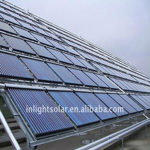 SRCC Certified Evacuated tube Heat Pipe Solar Collector