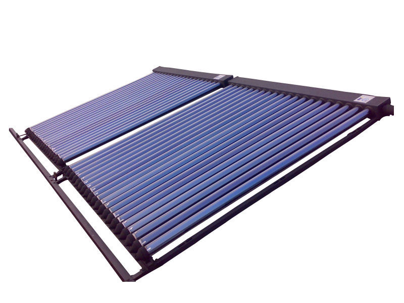EN12975 certified solar collector with heat pipe