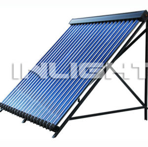 glass tube with heat pipe solar collector