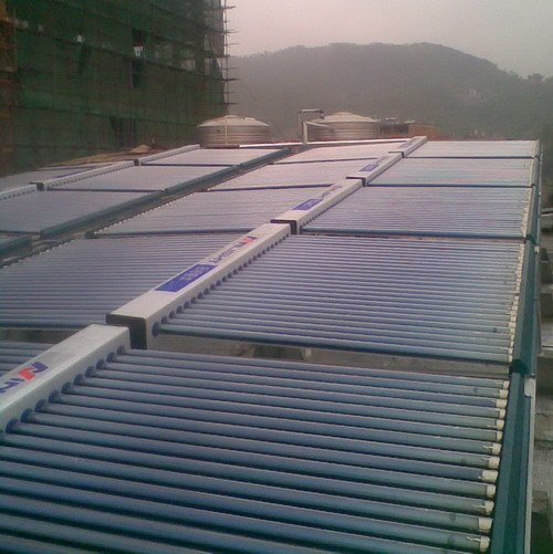 Glass Tube Solar Heat Collector