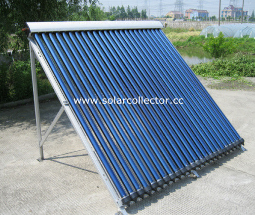 Copper Pipe Freeze-proofing Solar Collector