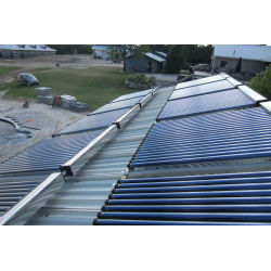 flat roof heat pipe solar thermal Collector