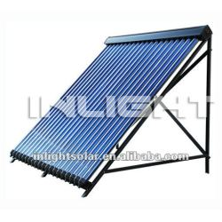 High Efficiency Pressurized Heat Pipe Solar Collector