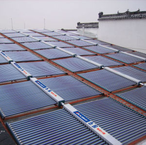 Heat Pipe Pressurized Solar Collector Solar Water Heater