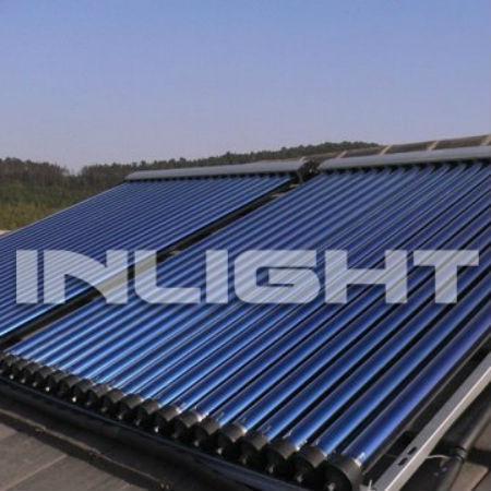 aluminum manifold Heat Pipe vaccum tube solar hot Collector