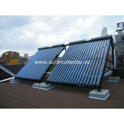 copper flow passage Heat Pipe solar energy Collector