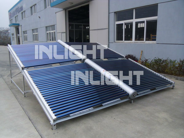 Heat Pipe Copper Manifold Solar Collector