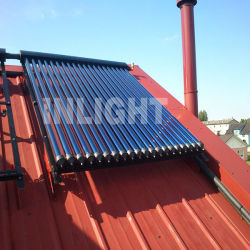 Heat Pipe Solar Collector for Slope roof
