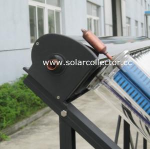Highest Efficiency Metal-Glass Solar Collector