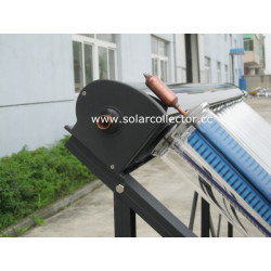 Highest Efficiency Metal-Glass Solar Collector