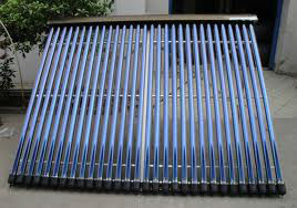 aluminum frame pressurized heat pipe solar collector