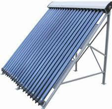 direct flow heat pipe vacuum tube Solar Collector