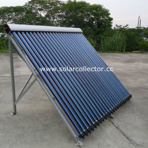 flat roof pressurized Solar hot Collector copper for heat exchange